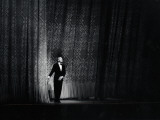 Ballet Master George Balanchine Taking a Curtain Call After Performance, New York State Theater Premium Photographic Print by Gjon Mili