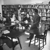 Jewish Agency Public Service College Premium Photographic Print by Dmitri Kessel