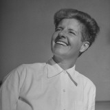 A Portrait of Betty Carstairs, Smiling Premium Photographic Print by David Scherman