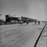 View of Track During Race at Palermo Premium Photographic Print by Dmitri Kessel