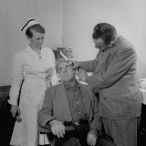 Doctor Examining Patient for Cancer Premium Photographic Print by Wallace Kirkland