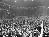 A View Showing the Large Crowd Attending the National Communist Party Convention Premium Photographic Print by Paul Dorsey