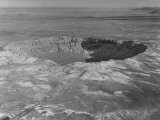 A Giant Crater Covering a Wide Area of Land from a Meteroite Premium Photographic Print by J. R. Eyerman