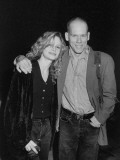 "Married Actors Kevin Bacon and Kyra Sedgwick at the Opening of the Play ""Oleanna"" Premium Photographic Print by Kevin Winter"
