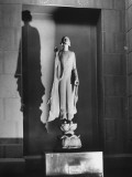 "Sculpture Entitled ""Chinoise"" by Gertrude Vanderbilt Whitney, Whitney Museum of American Art Premium Photographic Print by Andreas Feininger"