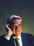 Soros Fund Management President George Soros, Hungarian-Born American Financier Premium Photographic Print by Ted Thai