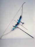 State-Of-The-Art Bow and Arrow Used in International Competition Premium Photographic Print by Ted Thai