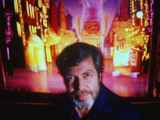"Set Designer Tony Walton on Set of Classical Musical, ""Guys and Dolls"" Premium Photographic Print by Ted Thai"