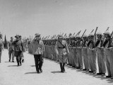King Peter Inspecting the Guard of Honour of the Arab Legion Premium Photographic Print by James Jarche