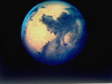 Image of Mars as Observed with NASA's Hubble Space Telescope, Photographic Print