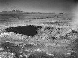 A Giant Crater Covering a Wide Area of Land from a Meteroite 50,000 Years Ago Premium Photographic Print by J. R. Eyerman