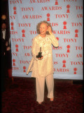 Actress Glenn Close Holding Award at 49th Annual Tony Awards Premium Photographic Print by Albert Ferreira