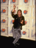 Red Hot Chili Peppers Lead Singer Anthony Kiedis at MTV Movie Awards Premium Photographic Print by Kevin Winter