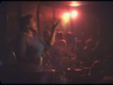 "Jazz Singer Ella Fitzgerald Performing at ""Mr. Kelly's"" Nightclub Premium Photographic Print by Yale Joel"