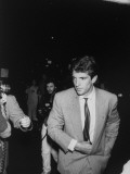 John F. Kennedy Jr., Arriving for His Aunt Lee Radziwill's Wedding to Herbert Ross Premium Photographic Print