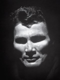 Portrait of Actor Jack Palance Looking Like a Jack-O'-Lantern Premium Photographic Print by Loomis Dean