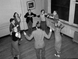 """Young People Dancing the """"Big Apple"""" Premium Photographic Print by Rex Hardy Jr."""