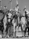 King Abdullah Ibn Hussein's Royal Household Guards Premium Photographic Print by John Phillips