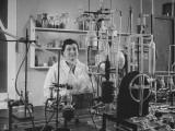 Scientist Working in Venom Research Premium Photographic Print by Hart Preston