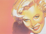 Mock-Up of Possible Stamp Honoring Actress Marilyn Monroe Premium Photographic Print