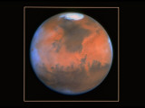 Hubble Space Telescope View of Mars, Photographic Print