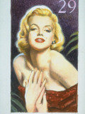 Stamp Honoring Actress Marilyn Monroe Premium Photographic Print