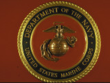 US Marine Corps Seal Premium-Fotodruck