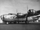 View of the B24 US Army Bomber Premium-Fotodruck von Peter Stackpole