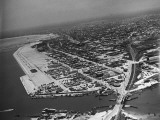 Aerial View of Corpus Christi Premium Photographic Print by John Phillips