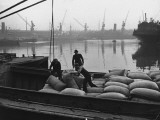 At the London Docks Premium Photographic Print by John Phillips