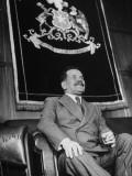 President of Chile Pedro Aguirre Cerda Premium Photographic Print by Hart Preston