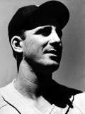 Portrait of Detroit Baseball Player Hank Greenberg Premium Photographic Print by Arthur Griffin