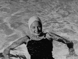 Swimmer Kathryn Rawls Premium Photographic Print by Rex Hardy Jr.