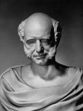 A View of a Life Mask of Martin Van Buren Premium Photographic Print by Bernard Hoffman