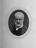 French Author Victor Hugo by Etienne Carjat Premium Photographic Print by Etienne Carjat