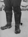 Finnish Felt Boots with Characteristic Upturned Toes Premium Photographic Print by Carl Mydans