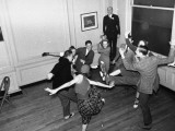 "Young People Dancing the ""Big Apple"" Premium Photographic Print by Rex Hardy Jr."