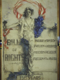 1941 Poster for Sesquicentennial of Bill of Rights Premium-Fotodruck