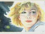Mock-Up of Possible Stamp Honoring Actress Marilyn Monroe Premium-Fotodruck