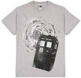 Dr Who - B&W Tardis New Logo T-Shirts