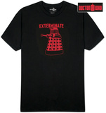Doctor Who - Exterminate Linear Dalek Series 5 Art T-shirts