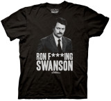 Parks & Recreation - Ron F***ng Swanson T-Shirt