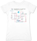 Juniors: Big Bang Theory - Friendship Algorithm T-Shirts