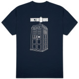 Dr Who - Tardis Vector Graphic T-Shirt