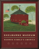Round Barn Prints by Warren Kimble