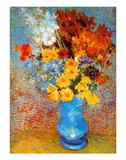 Vase of Flowers, c.1887 Prints by Vincent van Gogh