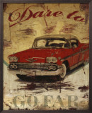 Dare to Go Far Print by Mauricio Higuera