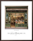 Boulangerie Poster by Dennis Barloga