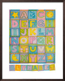 Alphabet Art by Cheryl Piperberg