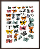 Butterflies, 1955 Poster by Andy Warhol
